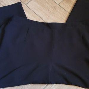 Liz Claiborne Pants - Plus Size Black Dress Pants
